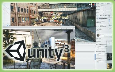 Unity - nástroj pro vývoj her a interaktivních vizualizací pro většinu dostupných platforem včetně iPhone OS a Android