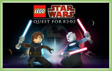 Advergaming - propagační hry - Lego:StarWars