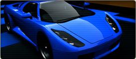 Moonbyte : Vizualizace sportovního vozu
