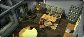 Unity : Vizualizace bytu ve 3D